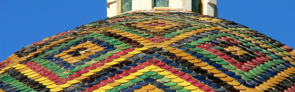 alghero sardegna cupola decorata colori manifestocultura