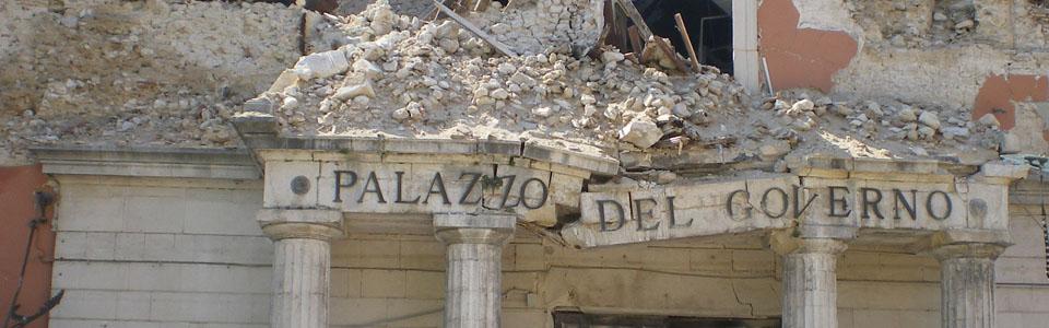 laquila abruzzo terremoto manifestocultura